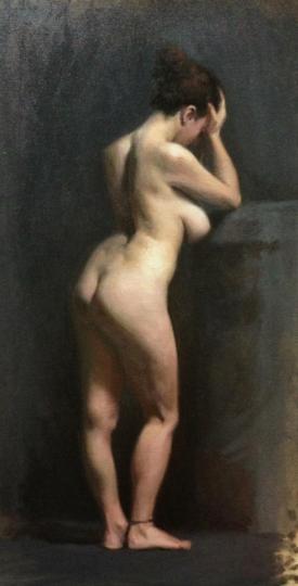 """""""Giuliana"""" - Oil on Canvas"""