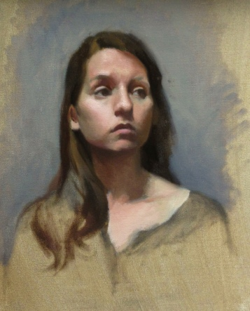 """Elley"" - Oil on Canvas"