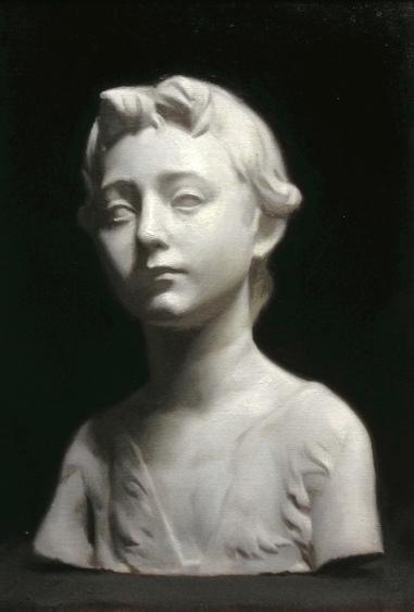 """John the Baptist"" - Oil on canvas"