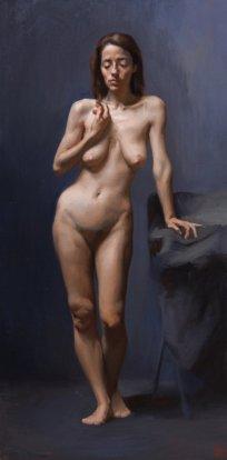 """""""Olimpia"""" - Oil on Canvas"""
