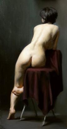 """Roxanne"" - Oil on Canvas"