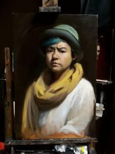 Self Portrait, 2015 - Oil on Canvas